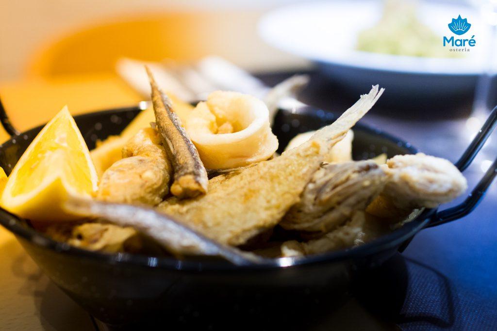 La nostra frittura di pesce mista