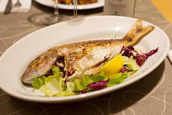 Pesce fritto da asporto a Roma